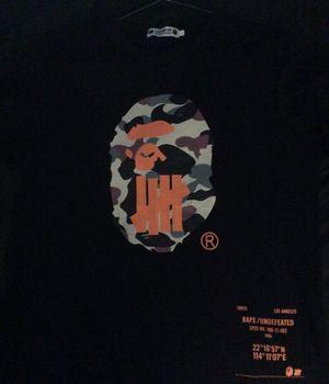 Undeafeated x Bape szL & Abathing ape camo szM for Sale in Andover, MA