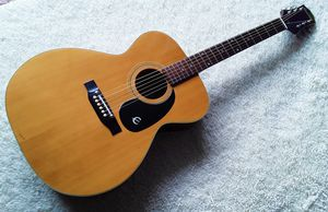 Vintage 1970s Epiphone Caballero Small Body Acoustic Guitar Made in Japan for Sale in Houston, TX
