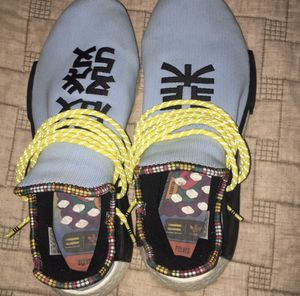 pharrell human race nmd sky blue size 10.5 for Sale in Appomattox, VA