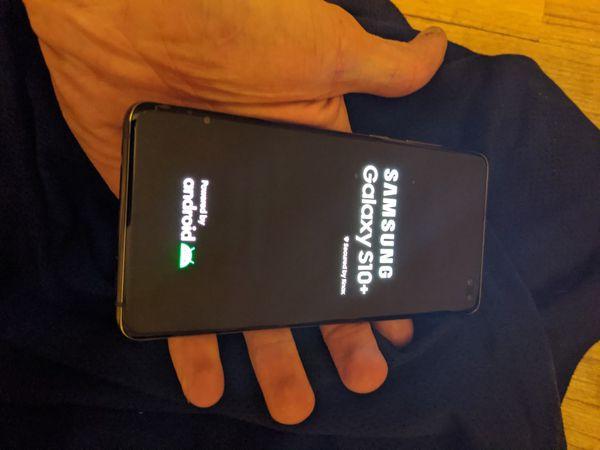 **ATT**Galaxy S10+ 128GB and 64gb mSD card