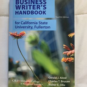 The Business Writer's Handbook For CSUF (12th Edition) for Sale in Los Angeles, CA