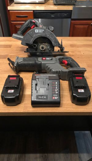 Porter cable power tools for Sale in Kent, WA