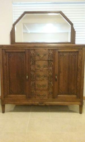 Buffet, oak antique for Sale in Tacoma, WA