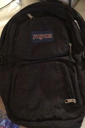 Jansport Backpack w/laptop and water bottle holders for Sale in Newark, NJ