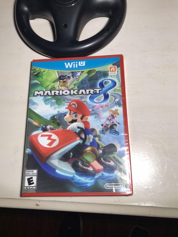 Nintendo Wii U Mario Kart New Never Open