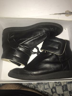 MAISON MARGIELA FUTURE all black size 45 for Sale in Miami, FL