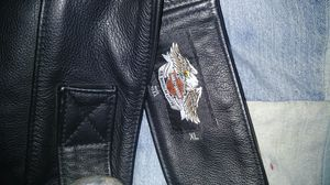Brand new XL mens black leather chaps never worn for Sale in Howard, SD