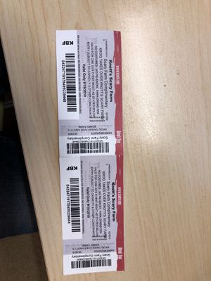 Knott's Scary Farm - 2 Tickets for Sale in Irvine, CA