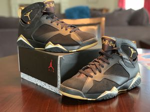 "AIR JORDAN 7 RETRO ""GOLDEN MOMENTS PACKAGE"" size 13 for Sale in Murfreesboro, TN"