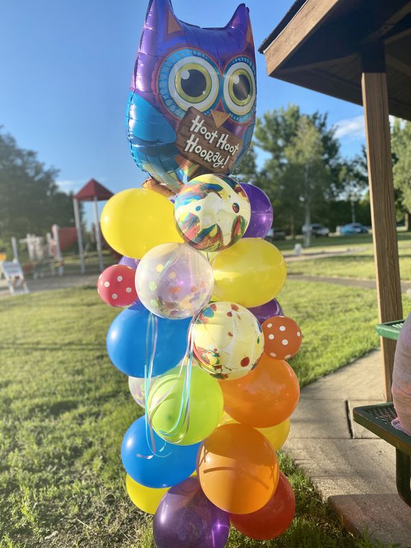 Birthday balloon columns! $50