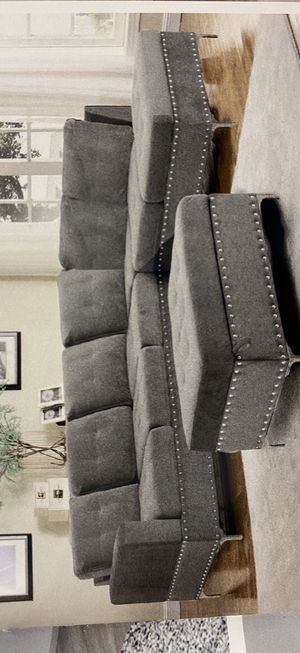 Furniture mattress- 🎃sectional + ottoman 🎃 for Sale in Sacramento, CA