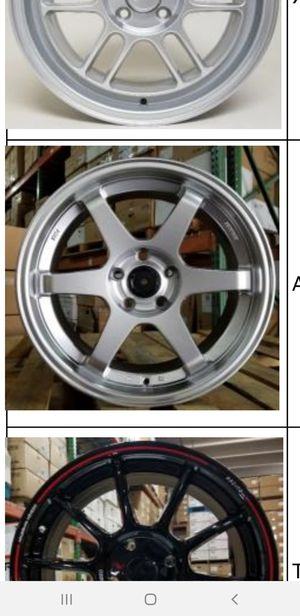 18x7.5 wheels new in boxes 5 lug 5x114.3 for Sale in Pembroke Pines, FL