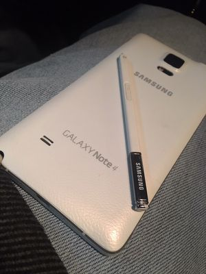Samsung Galaxy Note 4 Factory Unlocked - Any Sim world Wide for Sale in North Olmsted, OH