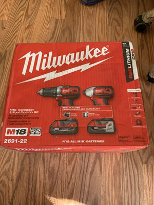 Milwaukee Impact Drill combo set BRAND NEW for Sale in Highland, CA