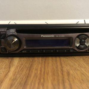 Panasonic Car CD Player for Sale in Lake Stevens, WA