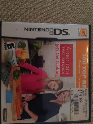 Nintendo ds let's get cooking for Sale in Visalia, CA