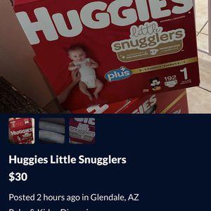 Huggies Little Snugglers for Sale in Glendale, AZ