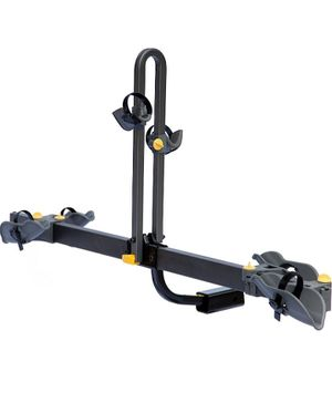 Saris Freedom EX Bike Hitch Car Rack, 2-Bicycle Carrier, Black (4412F) for Sale in McDonough, GA