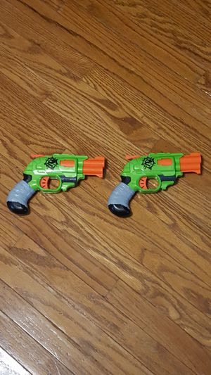 Nerf Guns - Zombie Strike Series - Two Double Strike Pistols for Sale in Mason City, IA