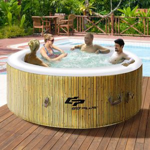 Brand new - massage jet Spa hot tub jacuzzi bubble bath poolside patio backyard for Sale in Fort Lauderdale, FL