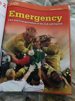 EMT book for Sale in Waterbury, CT