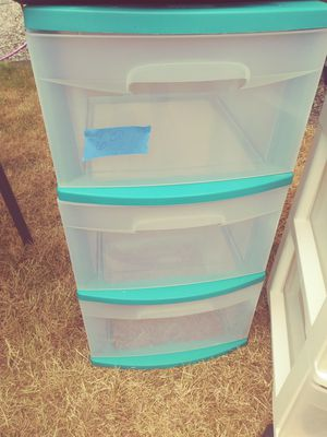 Plastic drawers for Sale in Arlington, WA