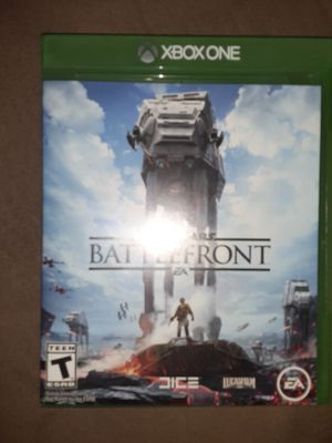 Xbox One game BATTLEFRONT for Sale in Glendale, AZ