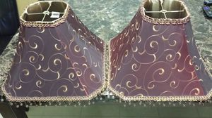 2 lamp shades for Sale in Roseville, MI