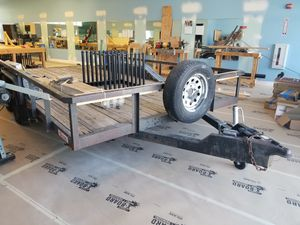 16' dual axle trailer for Sale in San Diego, CA