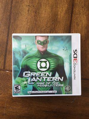 green lantern 3ds game for Sale in South Jordan, UT
