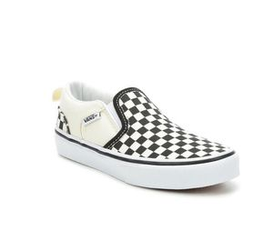 Asher checkered slip on vans, youth/boys 3.5 for Sale in Phoenix, AZ