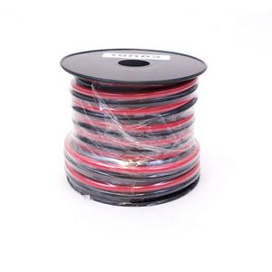 30' Roll 10 AWG Copper Red/Black ZIP Wire for Sale in SeaTac, WA