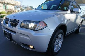 2006 BMW X3 3.0i AWD 4dr SUV CLEAN CLEAN TITLE CLEAN CARFAX NO ACCIDENTS LOTS OF SERVICE RECORDS WARRANTY AVAILABLE for Sale in Sacramento, CA