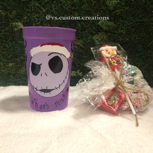 The Nightmare Before Christmas Color Changing Cold Tumbler/Christmas Gifts for Sale in Austin, TX