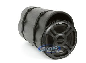 "10"" Ported Subwoofer Bass Tube with Jet Black Paint Finish for Sale in Litchfield Park, AZ"