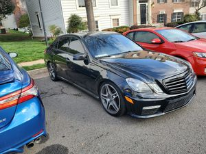 Amg 19inch rims staggered looking to trade for black staggered wheels for Sale in Fairfax, VA