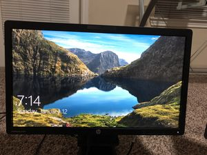 HP computer monitor 22inch EliteDisplay 221 for Sale in Farmers Branch, TX