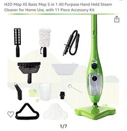 H2O Mop X5 All purpose hand held steam Cleaner for home for Sale in Norco,  CA