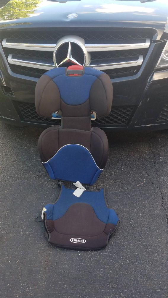 Booster seat back and booster seat cover only