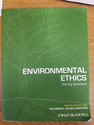 Environmental ethics textbook for Sale in Evansville, IN