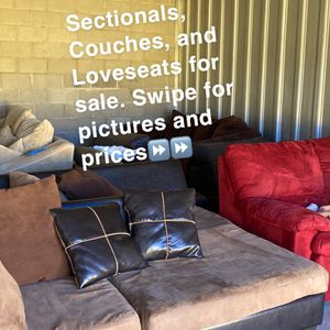 Sectionals, Loveseats, and Couches for Sale. Free Delivery! for Sale in Raleigh, NC