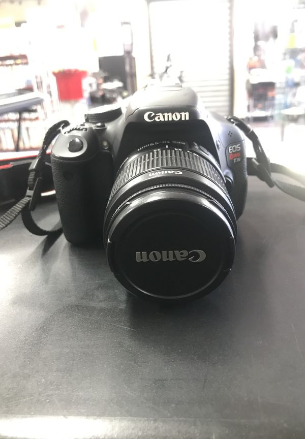 CANON T31 CAMERA W/2 LENSES 55-250MM AND T31