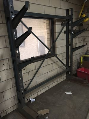 Industrial pipe rack for Sale in Akron, OH