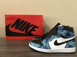 DS Jordan Retro 1 High OG Tie die sz 10.5W for Sale in Jurupa Valley, CA