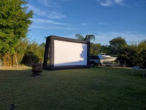 Superbowl screen for sale for Sale in Port St. Lucie, FL