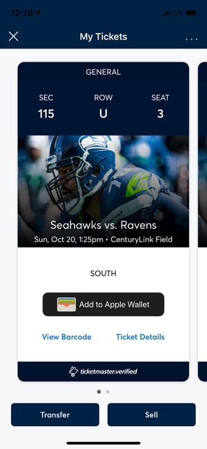 Seahawks Tickets for Sale in Puyallup, WA