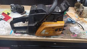 Poulan 50cc chainsaw works but it dies for Sale in Dallas, TX