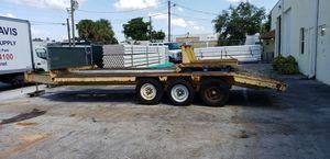 Eager Beaver 20' Flatbed Trailer for Sale in Miramar, FL
