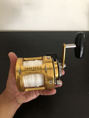 Penn International II Two speed fishing trolling reel for Sale in Westminster, CA