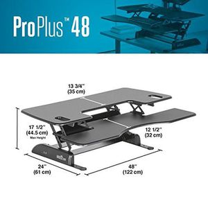 "Varidesk ProPlus48"" Sit Stand adjustable desk for Sale in Denver, CO"